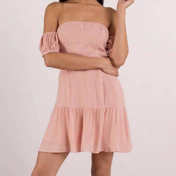 a4a6c6301ef1 Tobi - Ally White Off Shoulder Skater Dress. M 5b047a973800c580710002bc